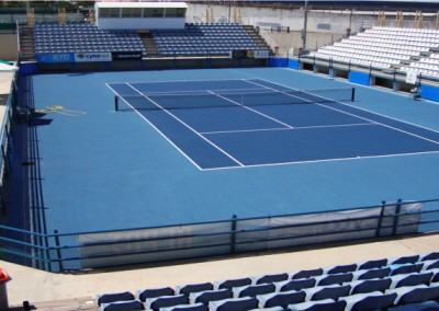 CYPRUS NATIONAL TENNIS CENTER (NICOSIA, 2007)