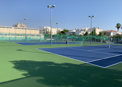 RESURFACED TENNIS COURTS (NICOSIA)